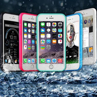 iphone 5 - 100 Sealed Waterproof Full Body Screen Protect Soft TPU Gel Front Back Case For iPhone S Plus quot quot SE S Samsung S7 MOQ