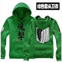 attack on titan hoodie - Attack on Titan Shingeki no Kyojin Hoodies Scouting Legion Allen Yeager Cosplay Hoodie Jacket Party clothes