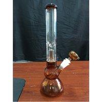 amber glass bowl - New Arrival Amber Glass Bongs mm High Beaker Bong mm Joint Size Water Bongs with Glass Bowls for Bongs Hookahs