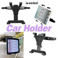 Wholesale 7inch to inch Universal Car holder Back Seat Headrest Mount Holder Stand Bracket Kit for iPad mini tablet
