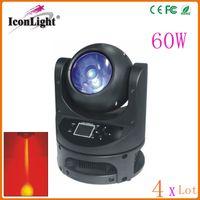 Wholesale 4PCS Hot Sale W Moving Head Dj Disco Light W LED Beam Light for Stage Lighting