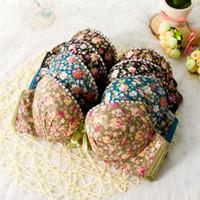 Wholesale High quality Women Seamless Underwear Modal Comfortable Lovely Bra Set Floral Bra Brief Sets Sexy Bra Panties