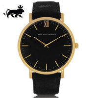 atmos clock - New luxury watches Larsson Jennings watch leather mens Women watches fashion LJ watch quartz watch Atmos clock rejoles relogio masculino