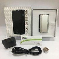 Cheap Eleaf Istick 30W full kit with 2200mAh 510 eleaf 30W Battery Mod VS eleaf mini 10w 50w 100W Good Quality