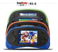 Wholesale Rs coolboy to establish different games children s games cool children s card game bit handheld Color Tetris