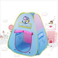Wholesale New Children tent convenient to carry baby garden outdoor child toys marine kids ball game playhouse for family fun