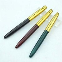 Wholesale New Fashion new Metal Fountain Pen Business Gift Writing Office Supplies School stationery
