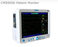 Wholesale 12 color TFT LCD with high resolution Multi parameter Patient Monitor CMS9000 ECG RESP SpO2 NIBP Dual channel TEMP Medical Supplyer