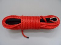 Wholesale mm m synthetic winch rope uhmwpe rope winch rope mm cable winch atv wnch line