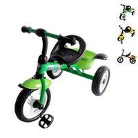 Venta al por mayor kevinstyle 1-5 años de edad los niños Niño Niña entrenamiento de la bicicleta Triciclo Niño coche de la bici triciclo juguetes para montar en bici JN0060