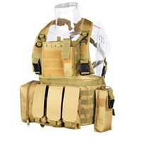 airsoft vest - New Arrival Tactical D Oxford Fabric Men Man Fabric Molle Airsoft Combat Vest Ver Outdoor Vest Specter Gear for Hunting CL4