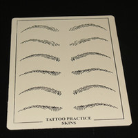 Wholesale 10pcs Tattoo practice skins high quality tattoo kit for makeup