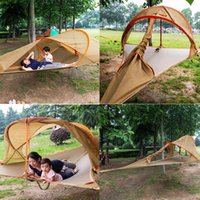 Wholesale 2016 New American Tree Tent Insect Prevention Jungle Person New Connect Hanging Hammock Hiking Camping Outdoor