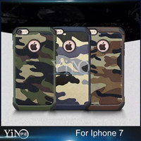 army armor - Military Camouflage Navy Army Camo Hard Cover Soft TPU Armor Case for iphone plus