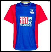 Wholesale 2016 Crystal Palace Jersey Crystal Palace The Eagles camisas Yohan Cabaye Bolasie McArthur Wickham Home Football Shirt Kit Top Qu