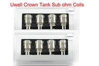 al por mayor control de temperatura -bueno-Uwell Crown Tank Sub ohm Bobinas ni200 temp control bobinas duales VS ártico maganus kanger subox subtanque mini ipv4 snowwolf 200w