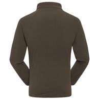 Wholesale Fall Colors Autumn Winter Mens Male Outdoor Running Long Sleeve Sweatshirt Coats Soft Casual Fleece Jacket Size L XL XXL