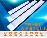 Wholesale 6pcs W m LED Batten Tube Light Cold White Warm Whtie SMD LED light AC85 V CE RoHS