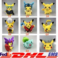 baby doll cosplay - 18 Style Poke Pikachu Cartoon Cosplay Christmas Costumes Doll Anime Uniform Soft Plush Kids Baby Toy Gift Doll Real Doll Aduit Doll XL P154