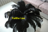 Wholesale Black Ostrich Feather plume for wedding centerpiece wedding decor feative decor supply event supply