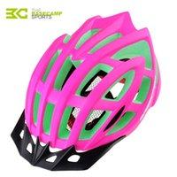 Wholesale New Bicycle Helmet Men Women Visor Ultralight Professional Breathable Mountain Bike Road MTB Safety Cycling Helmets H5107