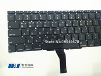 Wholesale Freeshipping New Year For Mac book air quot A1370 A1465 Keyboard Korea version Replacement MOQ