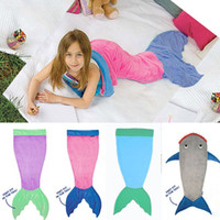 aa soft - HUG Me Babys Sleeping Bags Fashion Cute Striped Star Sleeping Bags Fish sleeping bag Mermaid tail Blanket Baby Fleabag AA
