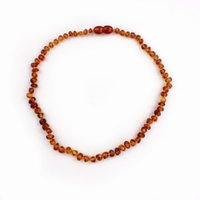 baltic amber baby teething necklace - Baby Gift Top Quality Hot New Arrival Natural Amber Necklace cm Baltic Amber Stone Teething Necklace