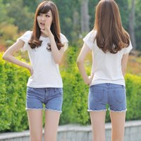 low price jeans - women s jeans manufacturers low stock price holes spread the denim shorts women