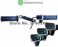 Wholesale Wuxing V New Design Thumb Twist Throttle Accelerator with Battery Indicator Panel for Ebikes or E scooters