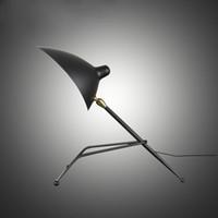 Wholesale Designer duckbilled lampshade Nordic Industrial Wind creative bedside Desk lamp individual brief gestures Tabel lamp