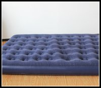 air beams - new camping mat series flocked pvc double person beam air bed air mattress inflatable bed Free DHL