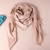 cotton square scarf - Winter Square Scarf Women Cashmere Scarf cm G001