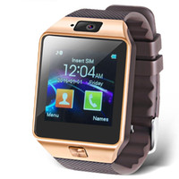 Wholesale h for Inch Touch Screen Smart Watch Phone with Camera for Andriod SmartPhones Golden