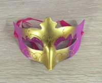 adult festival costumes - 2016 Fashion Princess Costume Party Festival Performance Masquerade Mask Hot Sale Hallowen Masks Mixed