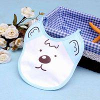 bandana print clothing - 10PCS Cotton Baby Bib Burp Clothes Cartoon Bear Print Cute Infant Boys Girls Bandana Bibs cm Waterproof Bibs for Kids Care