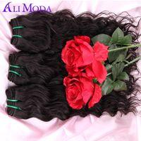 alo natural - 5A Malaysian Water Wave Virgin Alo Moda Hair Malaysian Ocean Wave Hair Wet and Wavy Human Hair Bundles Grace Rosa Hair Products