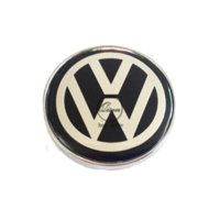 Wholesale 4 X MM BLACK CAR WHEEL Hub Center LOGO Caps Metal Aluminum emblem Fits for VW Golf Jetta MK5 MK6 POLO