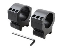 Wholesale 2pcs Set Heavy Duty Military mm Scope Ring mm Rail Picatinny Weaver Mount Hunting Flashlight Mount Aluminum