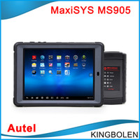 autel auto scanner - 2016 Newly Autel MaxiSys Mini MS905 Automotive Diagnostic and Analysis System Update Online MS Auto scanner