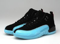 basketball player shoes - Outdoor shoes air retro ovo Men Basketball Shoes French blue Air Flu game sport player shoes with box