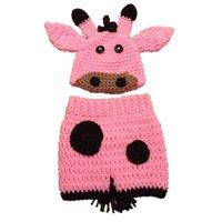 baby giraffe costume - Very Cute Pink Giraffe Costume Handmade Crochet Baby Girl Hat and Shorts Set Infant Animal Outfits Newborn Toddler Photo Prop