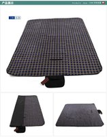 Wholesale Outdoor dampproof mat environmental picnic blanket Outdoor camping super light stain resistant dampproof mat Receive a portable