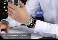 Wholesale A9 Bluetooth Smart Watch with Heart Rate Monitor for Apple Iwatch iPhone Samsung Android IOS Phone Smart Watch