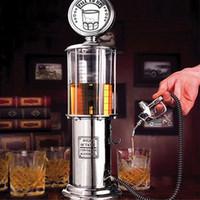 alcohol dispenser pump - Single GUN Silver Liquor Pump Gas Creative Tage Novelty Fill er Up Gas Pump Bar Drinking Alcohol Liquor Dispenser