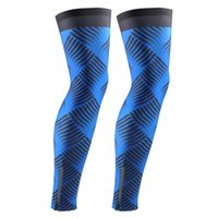 air legs - 2016 Unisex green Cycling Leg Warmers Cycling Leg sleeves Outdoor sports Sun Protection Breathing air