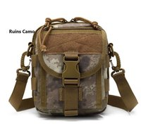 Wholesale It is waterproof outdoor sports fishing tactical one shoulder bag multi function oblique cross package
