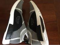 Wholesale NMD sneakers Runner Chuka City Sock NMD City Sock Black White Prime Knit Shoe Footwear Men And Women Shoe2016 New Sneaker