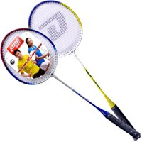Wholesale Double happiness DHS E TX202 badminton racket pack has worn line