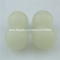 Wholesale 13840 Blue Glow in the dark mm Acrylic Loose Beads Spacer Bead Glow Bead